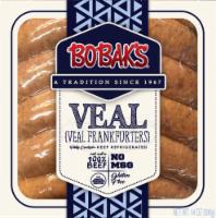Bobak's Jumbo Veal Frankfurters