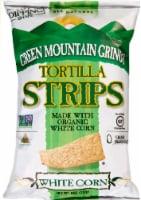 Green Mountain Gringo Organic White Corn Tortilla Strips - 8 oz