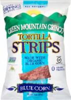 Green Mountain Gringo Organic Blue Corn Tortilla Strips - 8 oz