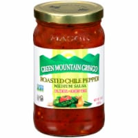 Green Mountain Gringo Roasted Chile Pepper Medium Salsa
