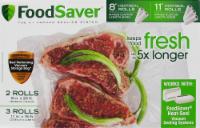 FoodSaver® Food Storage Bags - Clear