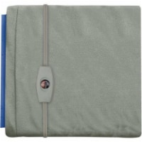Sunbeam Small Vinyl Gray Heating Pad - 1 ct