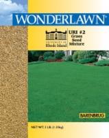 Barenbrug Wonderlawn Rhode Island Full Sun/Light Shade Lawn Seed Mixture 3 lb. - Case Of: 1; - Count of: 1