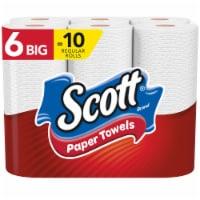 Scott 6016960 96 Sheet 1 Ply Choose-A-Sheet Paper Towels, Pack of 6 - Case of 4