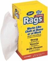 Scott All-Purpose Rags in A Box - White