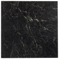 Achim Home Furnishings Nexus Peel & Stick Vinyl Floor Tile, Black Marble, 20Pk - 1 Piece