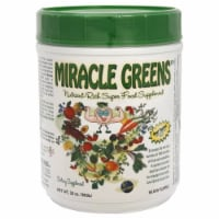 Miracle Greens Nutrient Rich Super Food Supplement