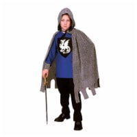 RG Costumes 90248-BL-S Blue Medieval Knight Costume - Size Child-Small