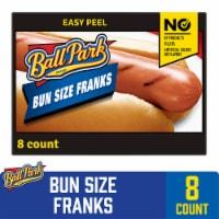 Ball Park Classic Hot Dogs Bun Size Length