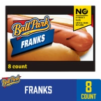Ball Park Classic Hot Dogs 8 Count