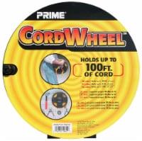 Prime Cord Wheel - Black - 1 Count