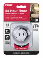 Prime 24-Hour Electromechanical Timer - White