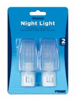 Prime Manual Night Light 2 Pack - White