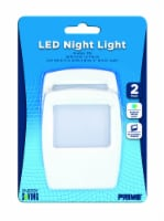 Prime Flate Panel LED Night Light - White
