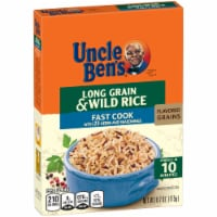 Uncle Ben's Flavored Grains Fast Cook Long Grain & Wild Rice