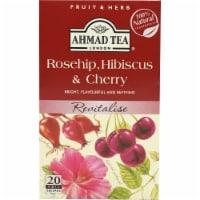 Ahmad Tea Rosehip Hibiscus & Cherry Tea Bags - 20 ct