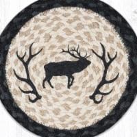 Capitol Importing 80-238ES 10 x 10 in. MSPR-238 Elk Silhouette Printed Round Trivet