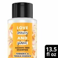Love Beauty and Planet Tumeric & Tonka Essence Shampoo