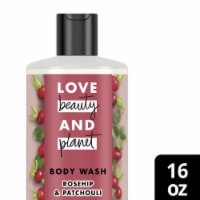 Love Beauty and Planet Rosehip & Patchouli Nurturing Nectar Body Wash