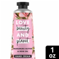 Love Beauty and Planet Muru Butter & Rose Oil Hand Cream