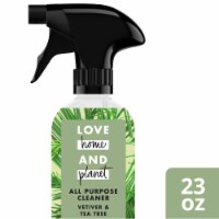 Love Home & Planet  Multipurpose Cleaner Spray   Vetiver & Tea Tree