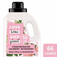 Love Home and Planet Rose Petal & Murumuru Concentrated Laundry Detergent
