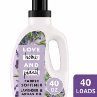 Love Home & Planet  Fabric Softener   Lavender & Argan Oil