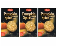 Dare Pumpkin Spice Creme Filled Cookies (3 Pack, Total of 30.6oz)