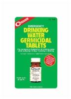 Coghlan's Emergency Drinking Water Germicidal Tablets - 50 pk