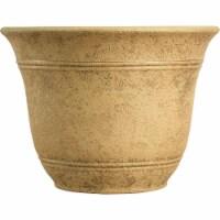 Listo Sierra 9.63 In. H. x 13 In. Dia. Arizona Sand Poly Flower Pot SRA13001P09 - 1