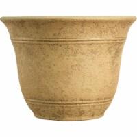 Listo Sierra 11-3/4 In. H. x 16 In. Dia. Arizona Sand Poly Flower Pot - 1