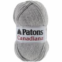 Patons Canadiana Yarn - Solids-Pale Grey Mix - 1