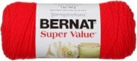 Bernat Super Value Solid Yarn-True Red - 1