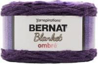 Bernat Blanket Ombre Yarn-Eggplant Ombre - 1