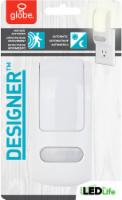 Globe Electric Designer™ Slim Profile LED Night Light - White