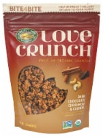 Nature's Path Organic Love Crunch Dark Chocolate Cinnamon & Cashew Organic Granola