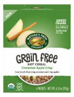 Nature's Path Organic Grain Free Cinnamon Apple Crisp Hot Cereal Packets 4 Count