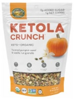 Nature's Path Organic ® Ketola Crunch™ Toasted Pumpkin Seed & Vanilla Nut Granola - 8 oz