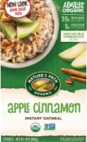 Nature's Path Organic Apple Cinnamon Instant Hot Oatmeal 8 Count