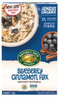 Nature's Path Organic Blueberry Cinnamon Flax Oatmeal
