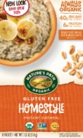 Nature's Path Organic Gluten Free Homestyle Instant Oatmeal Packets