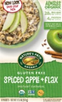 Nature's Path Organic Gluten Free Spiced Apple & Flax Instant Oatmeal