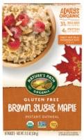 Nature's Path Organic® Gluten Free Brown Sugar Maple Instant Oatmeal - 8 ct / 11.3 oz