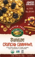 Nature's Path Organic Gluten Free Sunrise Crunchy Cinnamon Cereal