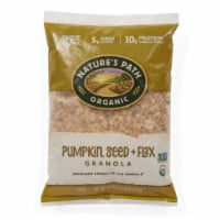 Nature's Path Organic Pumpkin Seed + Flax Granola Cereal