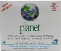 Planet Ultra Powder Laundry Detergent