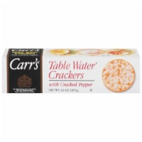 Carr's Table Cracked Pepper Water Crackers
