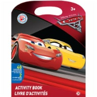 Disney Pixar Cars III Activity Book - 48 Pages and 2 Sticker Sheets - 1