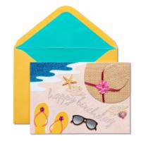 Papyrus (S22) Beach - Birthday Card