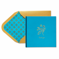 Papyrus (S29) Flower - Thank You Card
